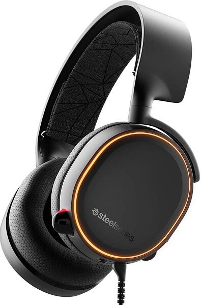 Mejores cascos gaming cable SteelSeries artics 5